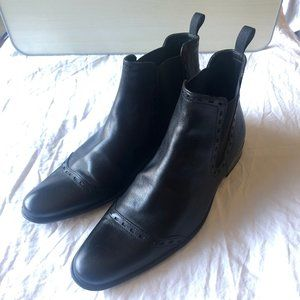 Kenneth Cole Men's Black Dress Boots